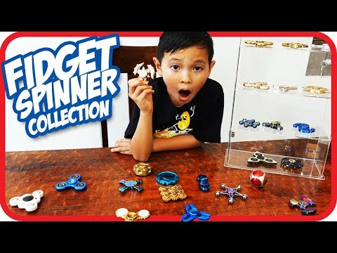 Rare 25 Fidget Spinner Collection - TigerBox HD