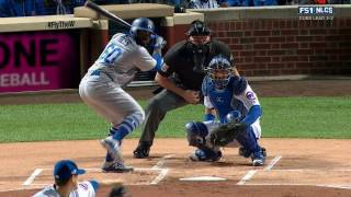 MLB 2016 / NLCS / Game 6 / 22.10.2016 / Los Angeles Dodgers @ Chicago Cubs