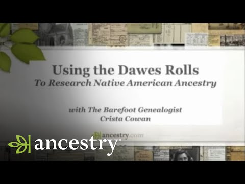 Using the Dawes Rolls to Research Native American Ancestry