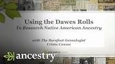 Cherokee Almanac: The Dawes Commission - YouTube