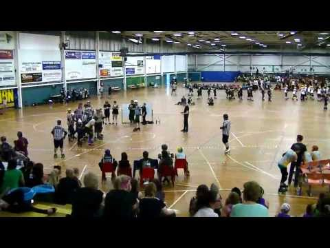 Eastern Region Roller Derby (ERRD) SMACKDOWN Day 1: IWRDL vs CCRG