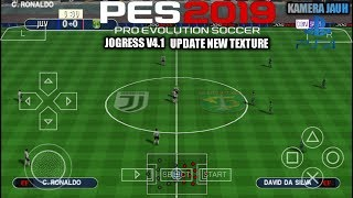 Gambar cover Cara Download Game PES 2019 JOGRESS V4.1 Update New Texture, Kamera PS4 PPSSPP Android