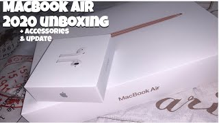 MacBook Air 2020 unboxing|| Accessories|| 2 month review