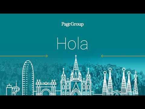 Welcome to PageGroup Barcelona: Shared Services Center