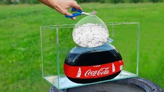 Experiment: Coca Cola and Mentos