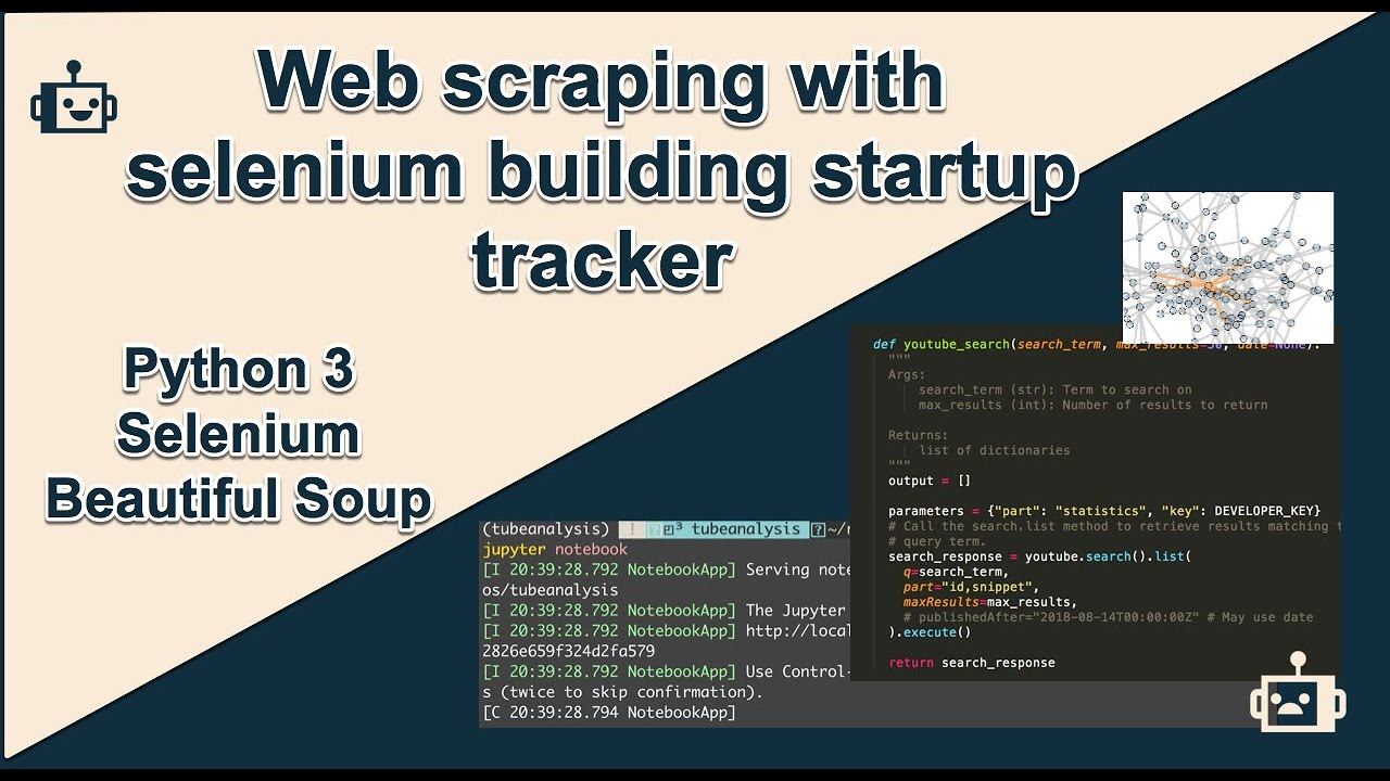 Web scraping with selenium and beautifulsoup (on Chrome)