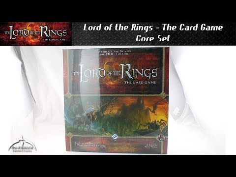 Lord Of The Rings The Card Game Core Set Unboxing And Quick View