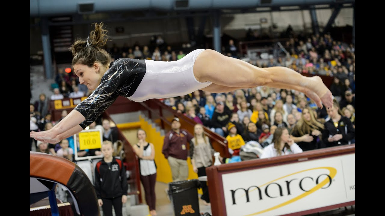 Gopher Women's Gymnastics: Best of Minnesota Highlights ...