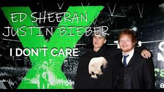 Ed Sheeran ft Justin Bieber I Don't Care (Traduzione in ITALIANO)