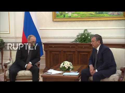Uzbekistan: PM Mirziyoyev thanks Putin for his support during Karimov's death