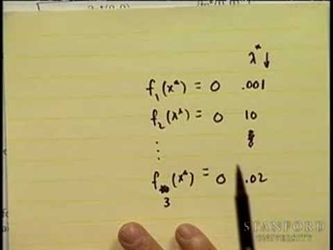 Lecture 9 | Convex Optimization I (Stanford)