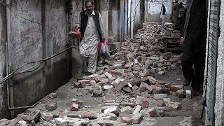 Magnitude 7.5 earthquake hits Afghanistan, Pakistan, India