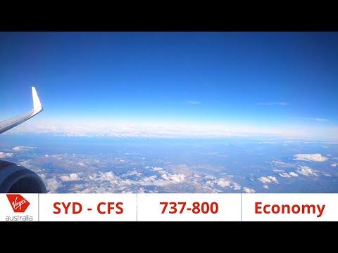 Full Flight: Virgin Australia 737 Sydney - Coffs Harbour
