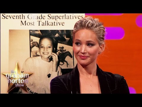 Thumbnail: Jennifer Lawrence Won 'Most Talkative' In High School - The Graham Norton Show