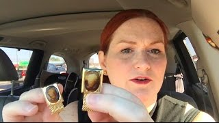 Thrift Store Ride Along and Day in the Life of a Reseller Mom Vlog - Making Money Selling Online