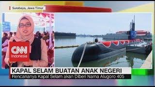 Alugoro 405, Kapal Selam Baru Buatan Anak Bangsa yang Siap Menjaga Kedaulatan RI