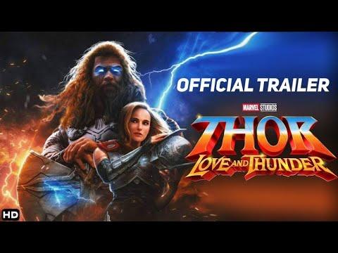 THOR 4  Love and Thunder 2022 Teaser Trailer Concept – Natalie Portman, Chris Hemsworth MCU Movie