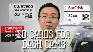 Dash Cam 101 - Guide to SD Cards
