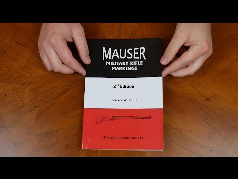 Firearm Book Review: Mauser Military Rifle Markings