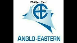 Video What happened in Anglo Eastern Written test for DNS?? download MP3, 3GP, MP4, WEBM, AVI, FLV November 2018