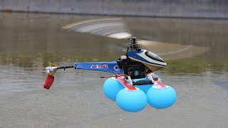 How to Land Your Helicopter in water - Balloon Helicopter