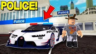 MOST EXPENSIVE POLICE CAR! (Roblox Ultimate Car Simulator)