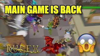 RuneX RSPS: *200+ Online* MAIN GAME IS BACK & THE HYPE IS REAL!! +$50 Bond Giveaway