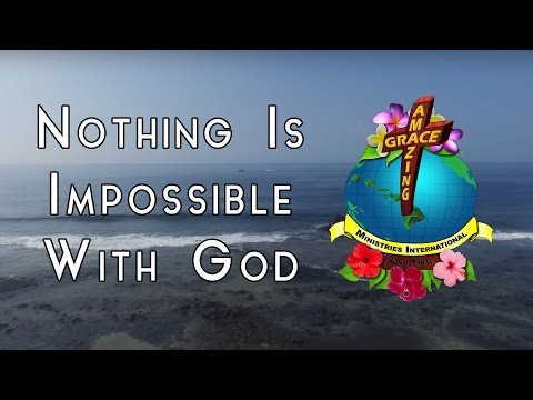"""Christmas 2016 """"Nothing is Impossible with God"""" - Words of Aloha"""