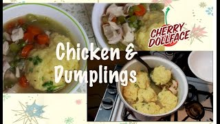 Delicious Homemade Chicken & Dumplings Soup by CHERRY DOLLFACE Thumbnail