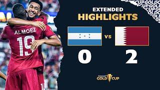 Extended Highlights: Honduras 0-2 Qatar - Gold Cup 2021