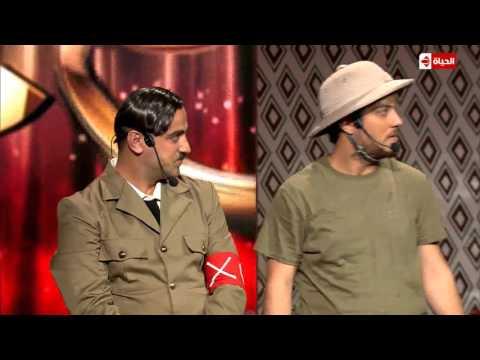 علي منصور ومحمد فوعاني - هتلر ومساعده | نجم الكوميديا