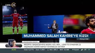Ünlü futbolcu Muhammed Salah, Mısır Futbol Federasyonu'na tepki gösterdi