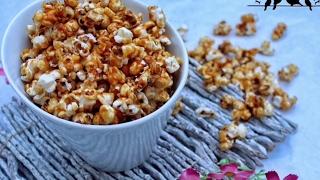 Çıtır Çıtır Karamelli Patlamış Mısır Tarifi - Caramel Popcorn