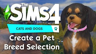 Create a Pet: Selecting Through Breeds | The Sims 4 Cats & Dogs Demo