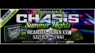 CHASIS SUMMER 2014 - INVITACIÓN RICARDO F, RUBEN XXL, XAVI BCN y DJ NAU