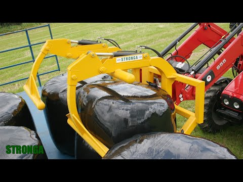 Stronga Double Universal Bale Grab SUB240 - Independent Double Bale Grab Attachment