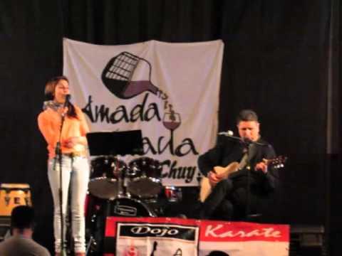 Silvana Viera & Jordan Borges ,  karate Festival Chuy 2015