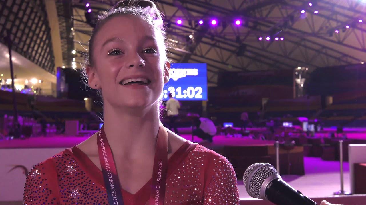 Grace McCallum - Interview - 2018 World Championships ...