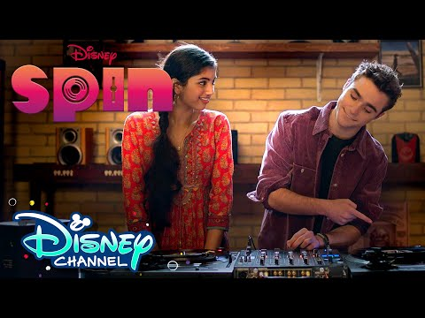 Spin Lessons | Spin | Disney Channel Original Movie | Disney Channel