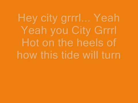 CSS- city grrrl - lyrics