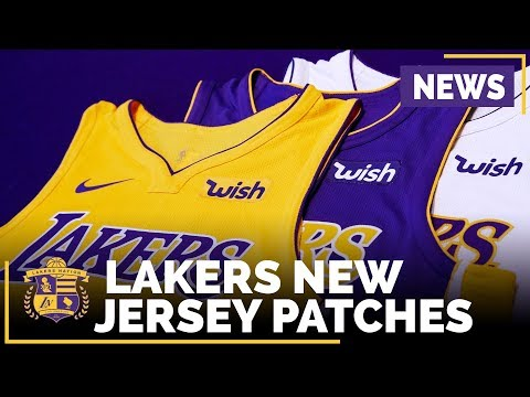 Lakers New Jersey Ad Patches - Like It or Hate It?
