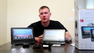 RCA 10 inch Tablet and DVD Combo unboxing and review