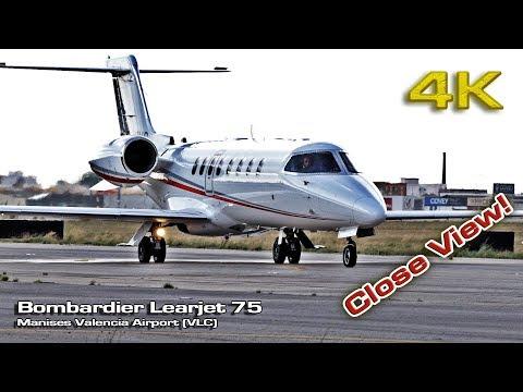 Bombardier Learjet 75 (Close View) [4K]