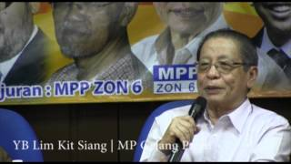 YB Lim Kit Siang - 13 Mei : Rekonstruksi Sejarah & Pembinaan Malaysia Pasca Rasisme