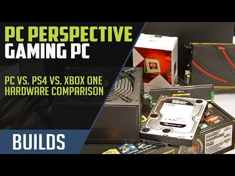 PC vs. PS4 vs. Xbox One Hardware Comparison: Building a Competing Gaming PC