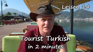 Turkish in 2 minutes  lesson 14