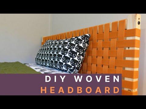 diy-woven-canvas-headboard