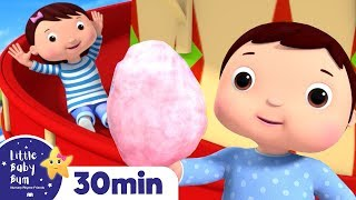 Fun Fair Song! +More Nursery Rhymes and Kids Songs - ABCs and 123s | Learn with Little Baby Bum