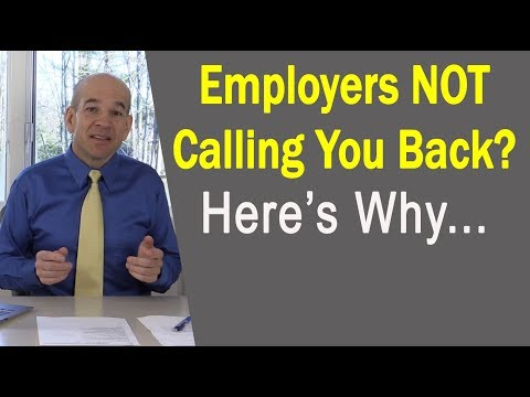 Employers NOT Calling You Back After Interviews?