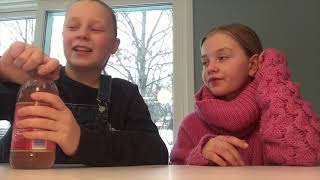 VI KUNNE DØD! (Ikke clickbait) - iste testing med Kristina & Ebba